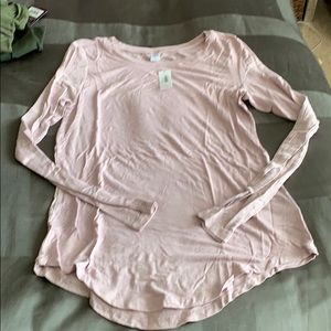 ON luxe long sleeve shirt